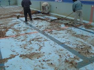 仲多度郡 プール防水工事