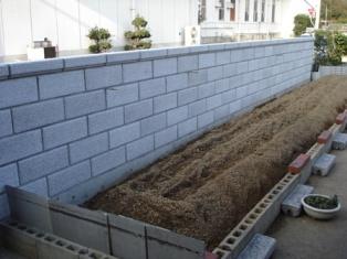 道に面した古いブロック塀を造り替え(仲多度郡N様)
