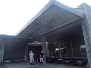 車屋さんの車検場などを新設(三豊市HIROモータース様)
