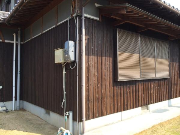 木部外壁塗装はお早めに…(三豊市K様邸)