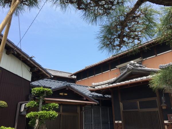 セメント瓦屋根も塗装で再び美しく☆(三豊市O様邸)