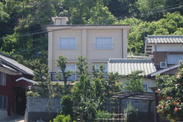 屋根工事からの外部塗装工事(多度津町O様邸)