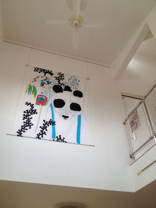 開放的な空間をプライベートルームに…(丸亀市T様邸、2012.8完工)