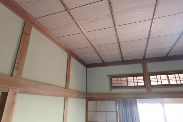和室の塗り壁も天井もおまかせ下さい。(坂出市K様邸)