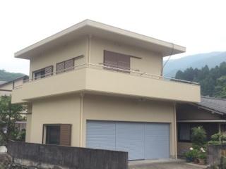 外壁塗装工事(四国中央市Y様邸)