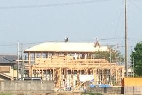 新築!(三豊市S様邸)④屋根と瓦