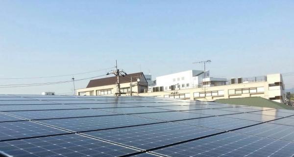 太陽光発電システム(松山市T様邸)
