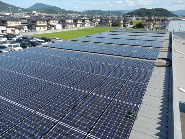 太陽光発電システム(三豊市三野町ヒロモータース様)
