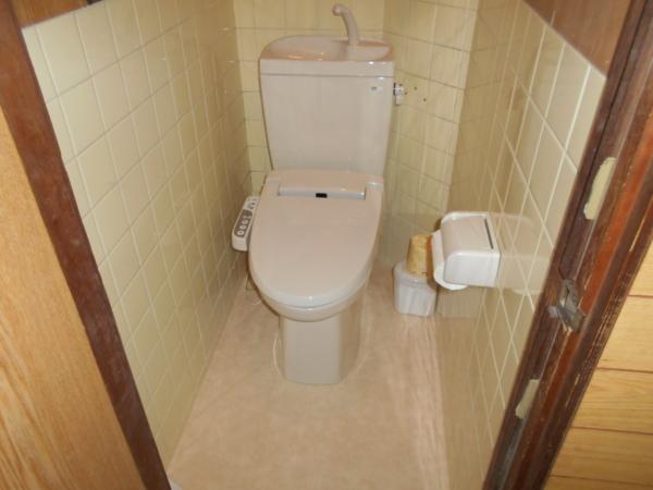 和式トイレから洋式トイレにリフォーム♪