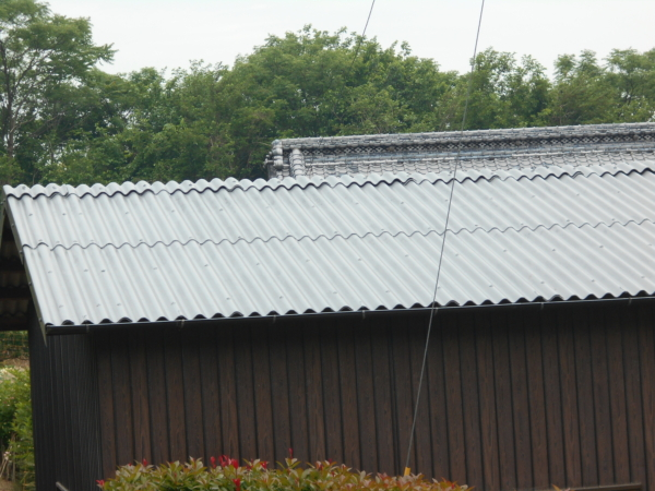 倉庫屋根塗装