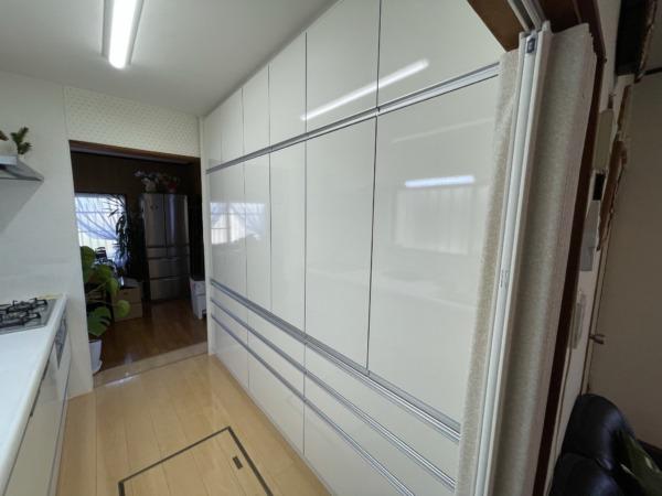 キッチン システム収納設置